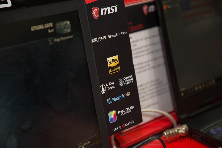 MSI Gaming Notebook Computex 2017 50