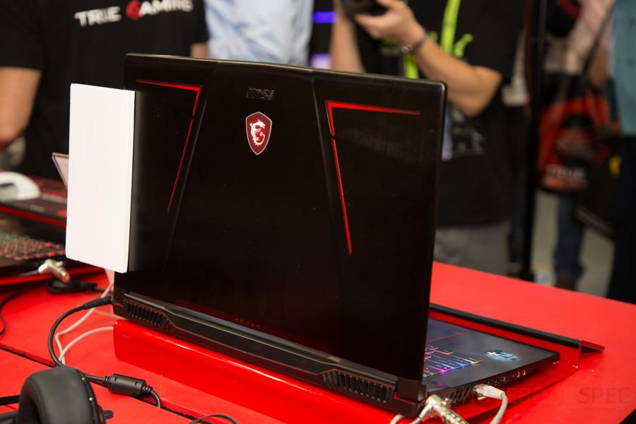 MSI Gaming Notebook Computex 2017 72
