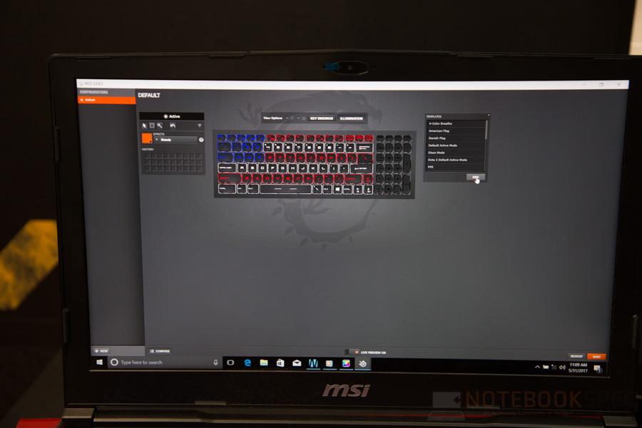 MSI Gaming Notebook Computex 2017 79