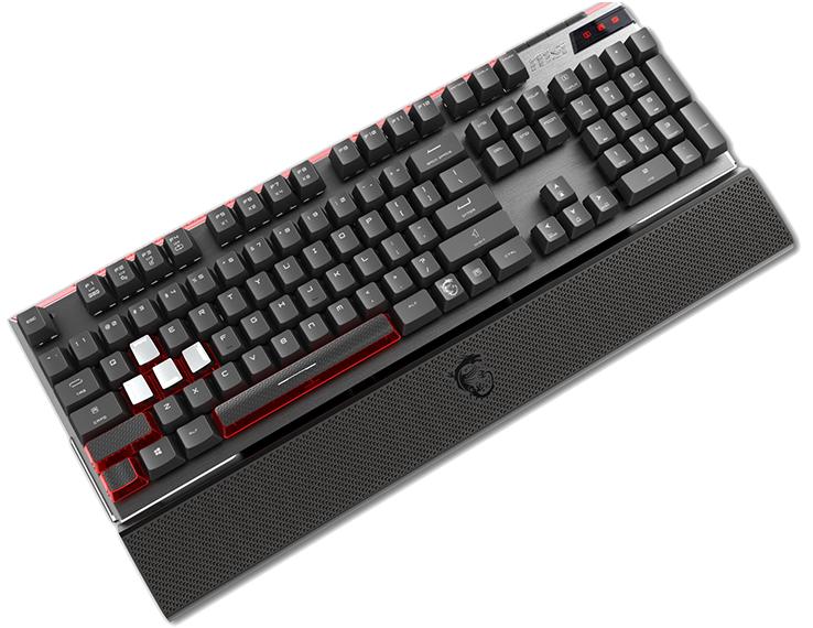 MSI vigor GK80 is a fully RGB backlit keyboard