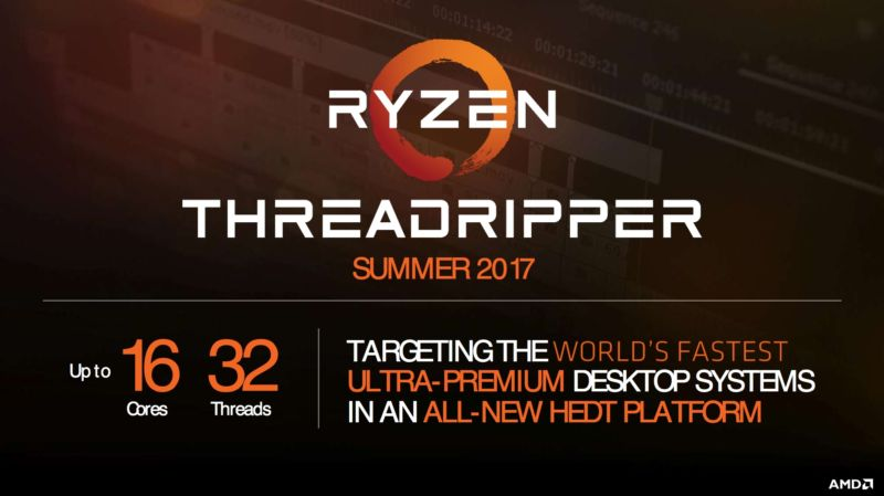 amd Ryzen threaddripper 600