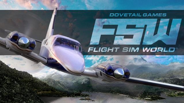 [Game 2017] Flight Sim World เกมซิมูเลชั่นขับเครื่องบินเปิด Early Access ให้เล่นบน Steam แล้วในราคา 459 บาท