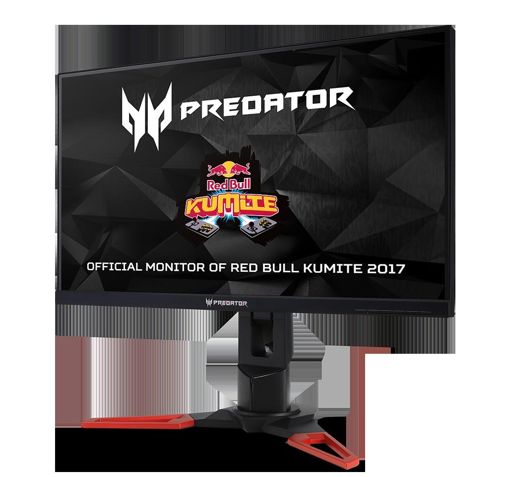 thumbnail Predator XB271HK Red Bull Kumite