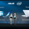 Intel Corporate Vice President Gregory Bryant joins ASUS Chairman Jonney Shih at Computex to celebrate longtime partnership 1