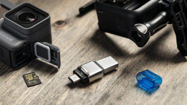 Kingston MicroSD Card Reader USB Type C 3