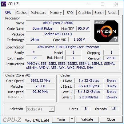 OMEN 880 CPUZ 1