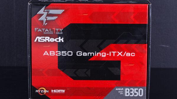 ASRock AB350 Gaming ITX AC 1