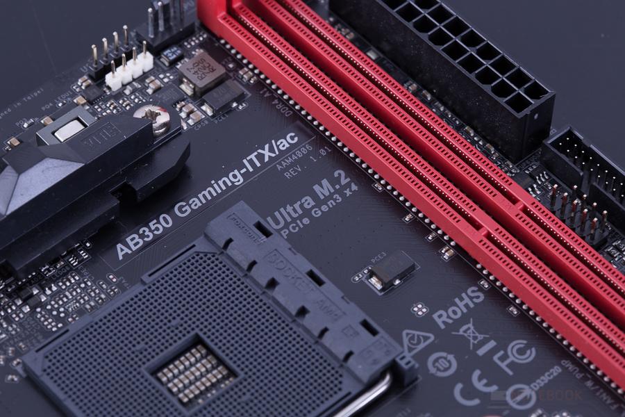 ASRock AB350 Gaming ITX AC 14