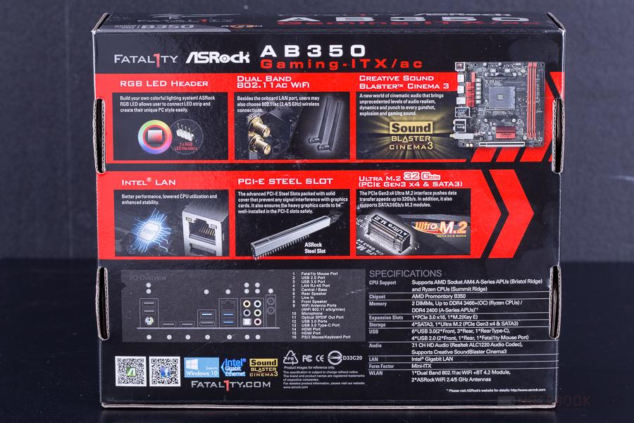 ASRock AB350 Gaming ITX AC 2