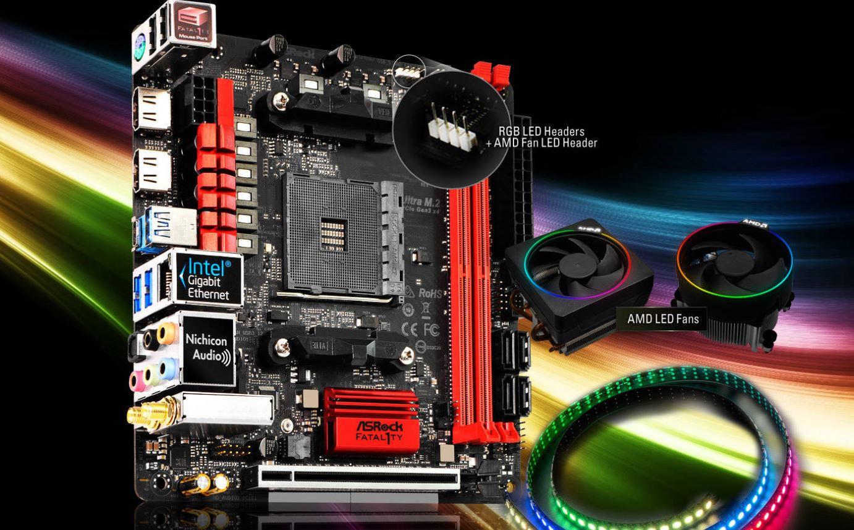 ASRock Fatal1ty AB350 Gaming ITX fea 1