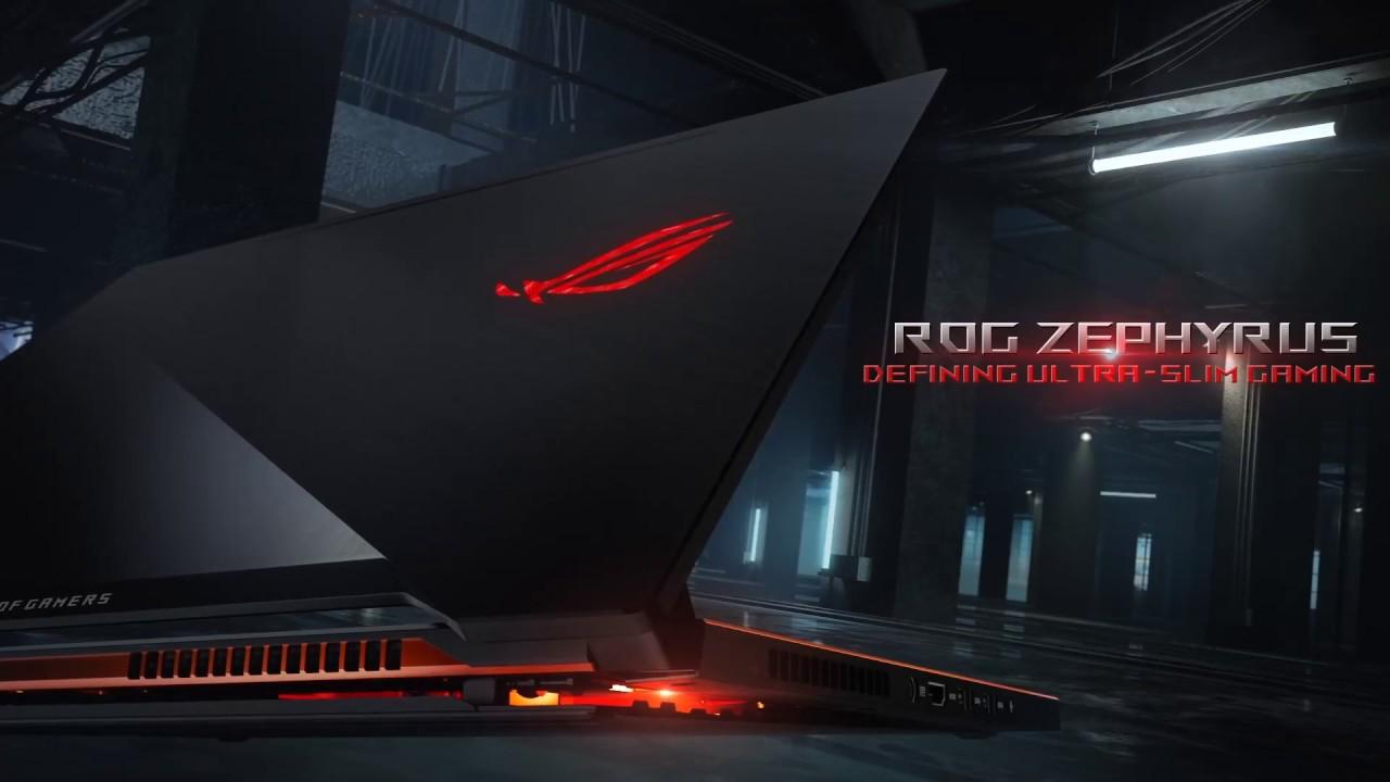 ASUS ROG Zephyrus GX501 top