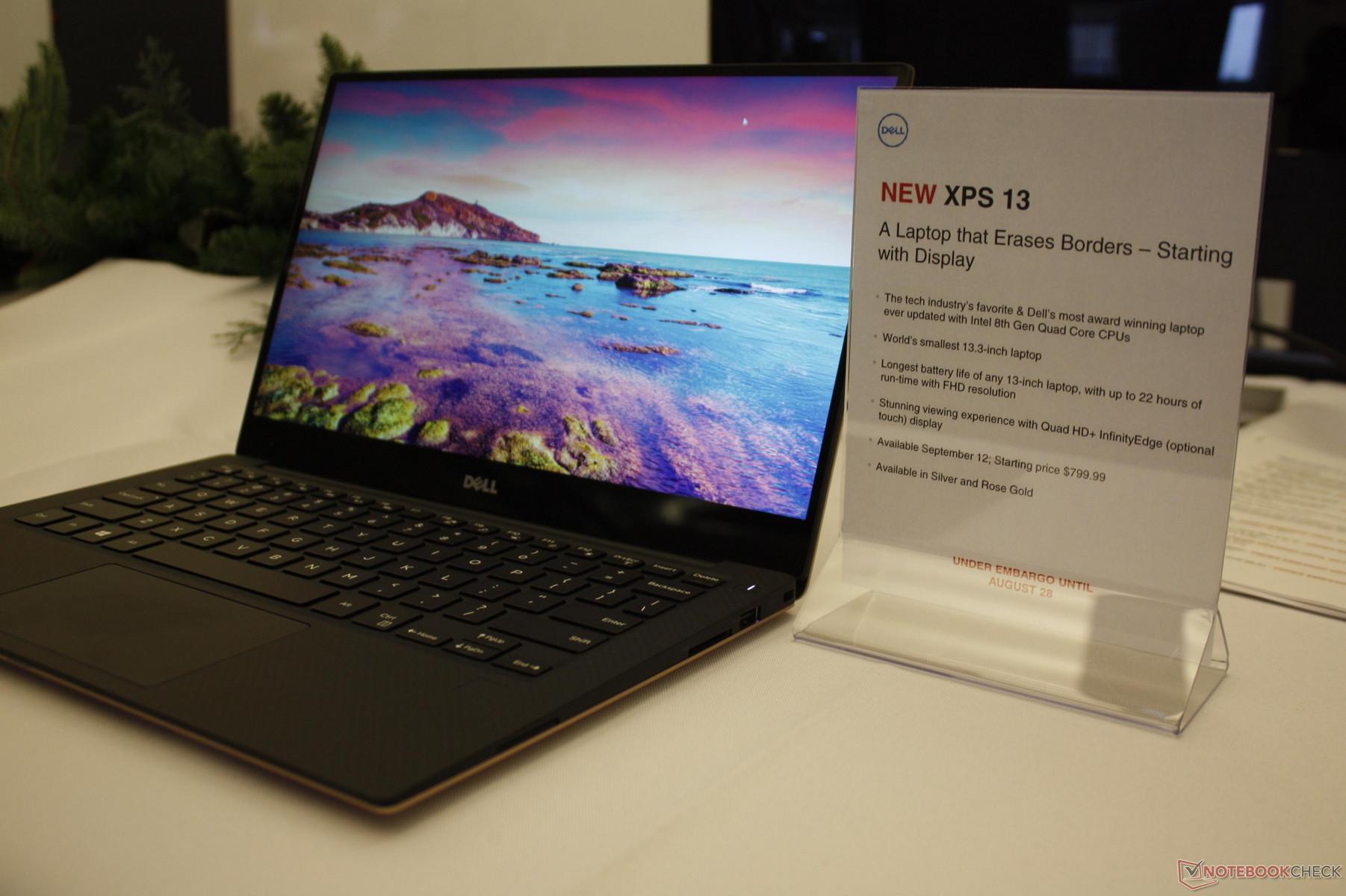 [IFA 2017] Dell เปิดตัว XPS 13 รุ่นรีเฟรชมาพร้อมกับชิป ...