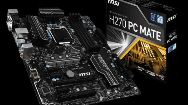 MSI H270 PC MATE 0