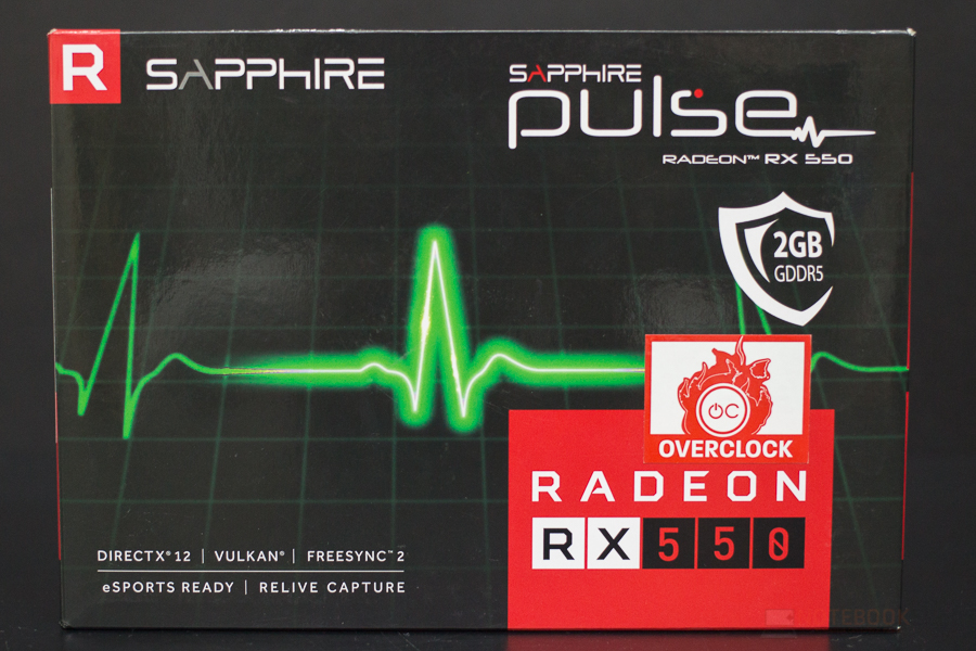 SAPPHIRE RX550 1
