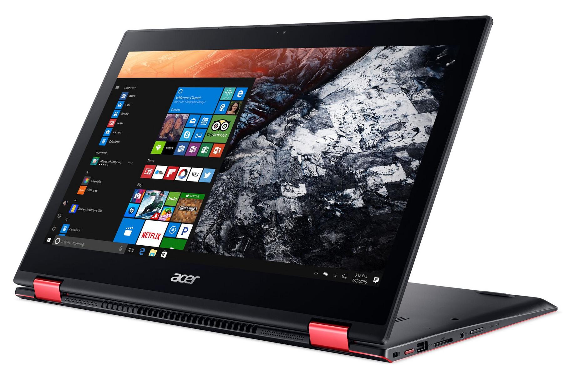 csm Acer Nitro 5 Spin display mode left facing Win10 2ea9dcf7e1