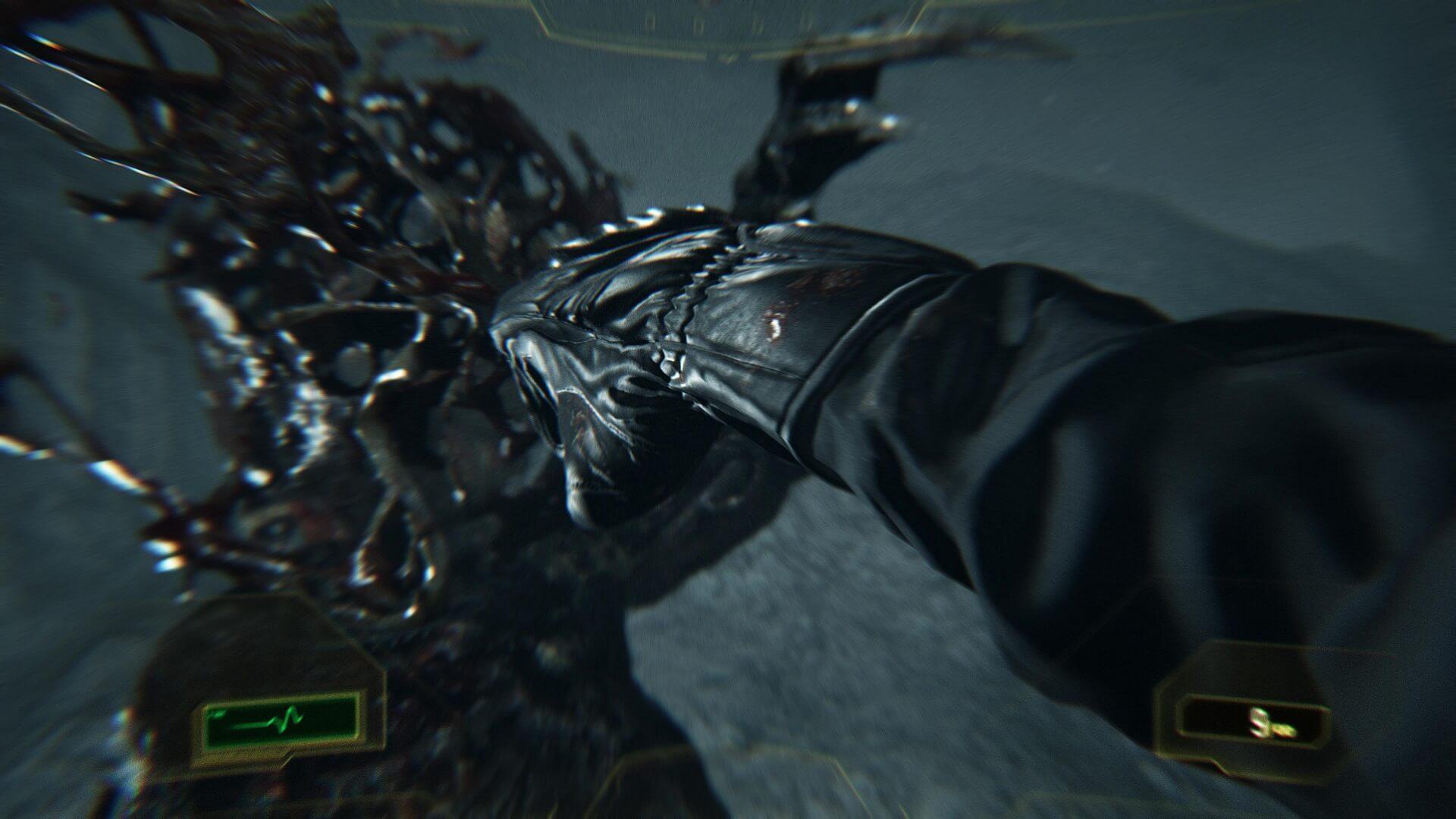 [Game 2017] มาแล้วตัวอย่าง Gameplay ใหม่ของ DLC Not A Hero ของเกม Resident Evil 7 พี่คริสยังคงหมัดหนักเหมือนเดิม!!