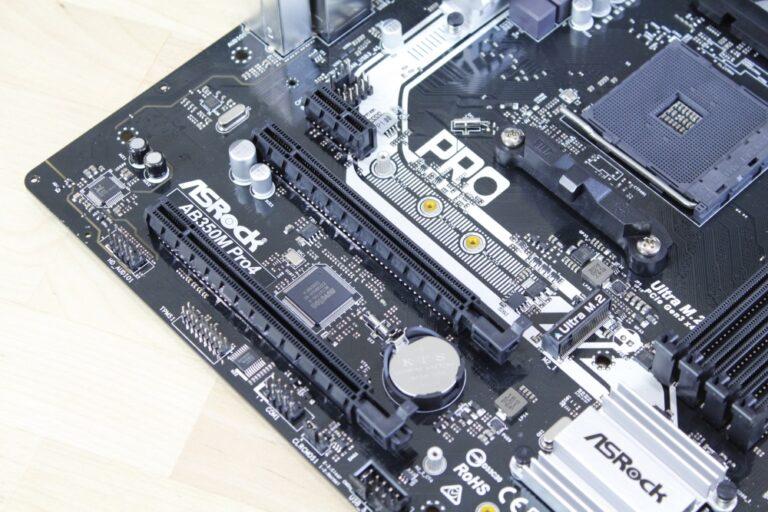 ASRock AB350M Pro4 10