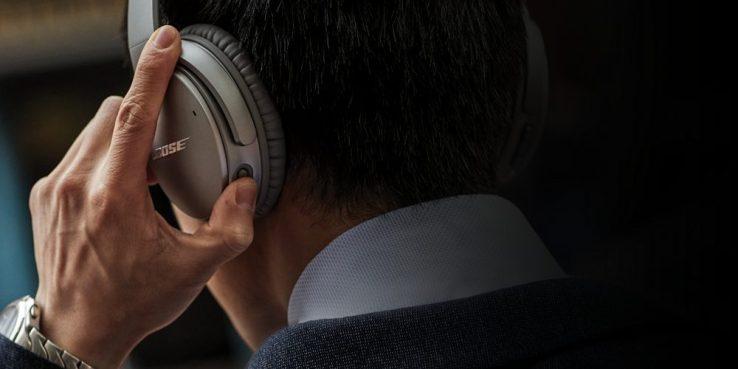 Bose QC 35 II noise cancelling headphones 600 00