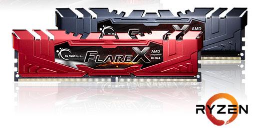 Gskill FlareX AMD Ryzen