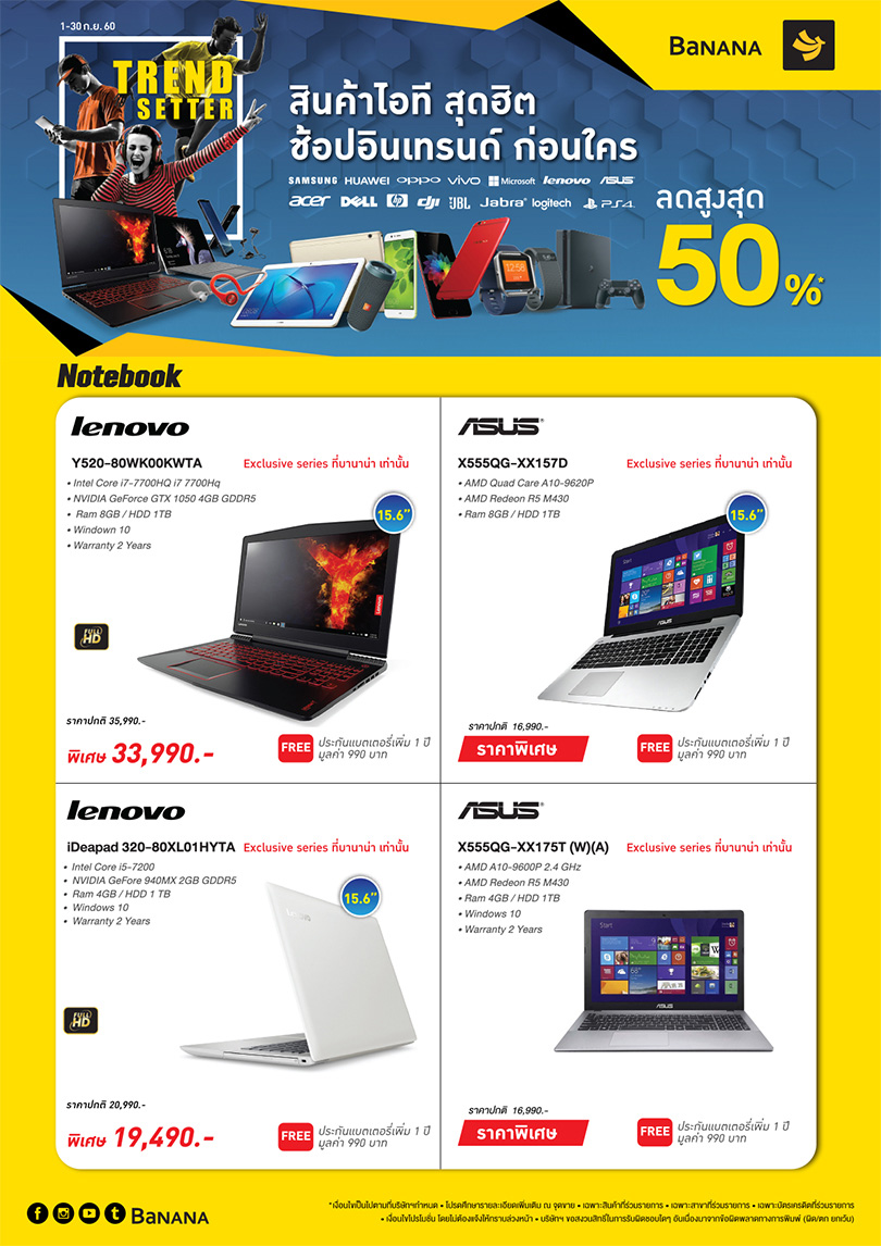 Monthly Promotions Sep17 Notebook