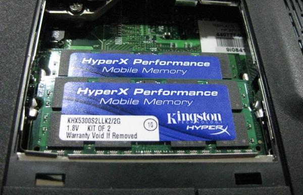 Notebook RAM 4
