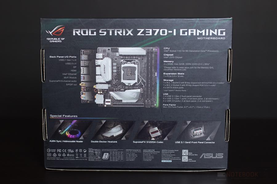 Rog Strix Z370 I Gaming 2