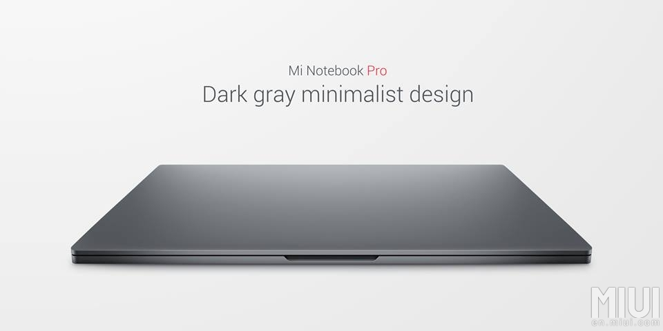 mi notebook pro 7