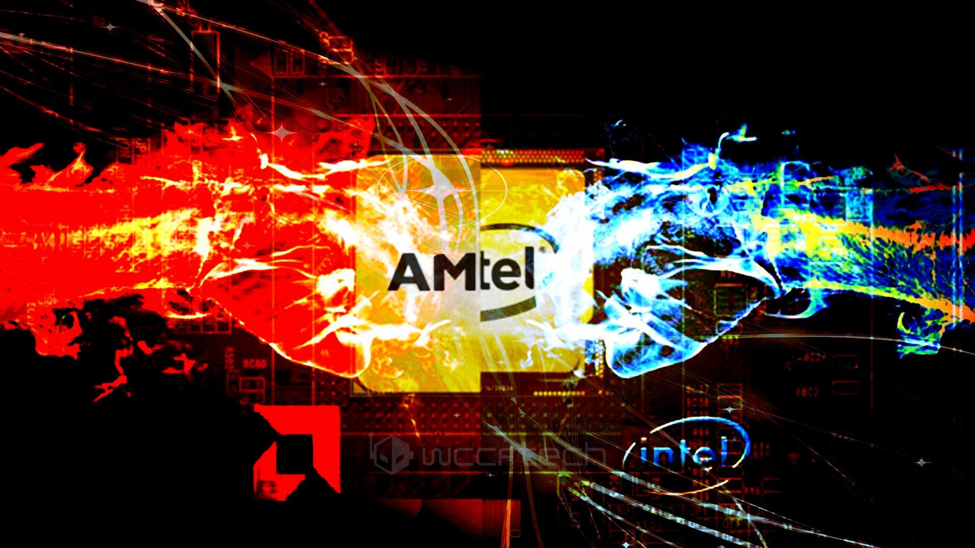 AMD Intel Rivalry Wccftech