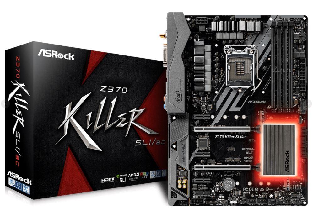 ASRock Z370 Killer SLI ac 1