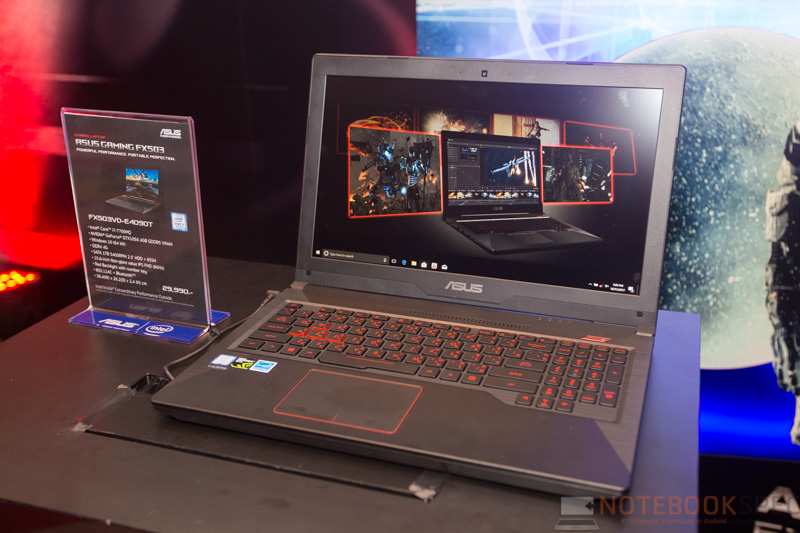 ASUS Gaming FX503 Preview 1