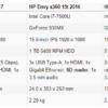 HP envy x360 15m 2