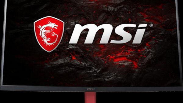 MSI Optix AG32R Freesync Monitor 600