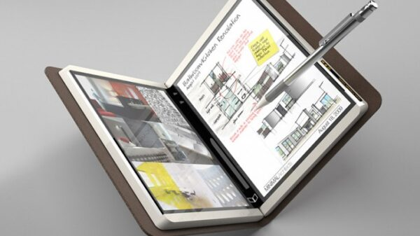 Microsoft foldable Courier Booklet PC concept from 2008 600 01