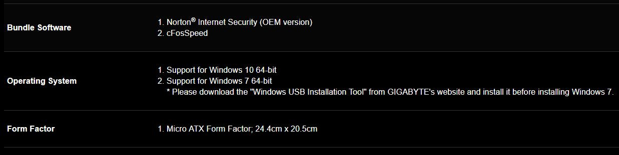 gigabyte a320m hd2 6