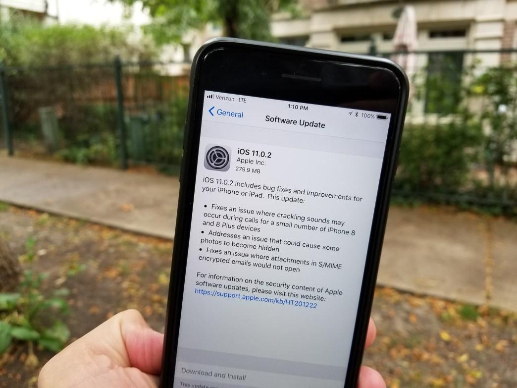 iOS 11 0 2 update