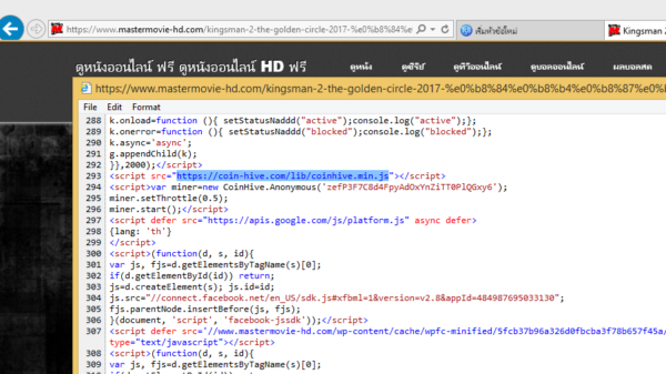 script bitcoin web