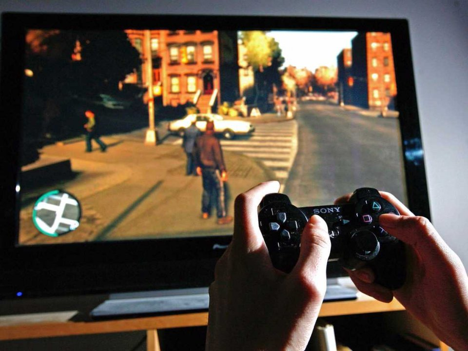 video game player controller grand theft auto