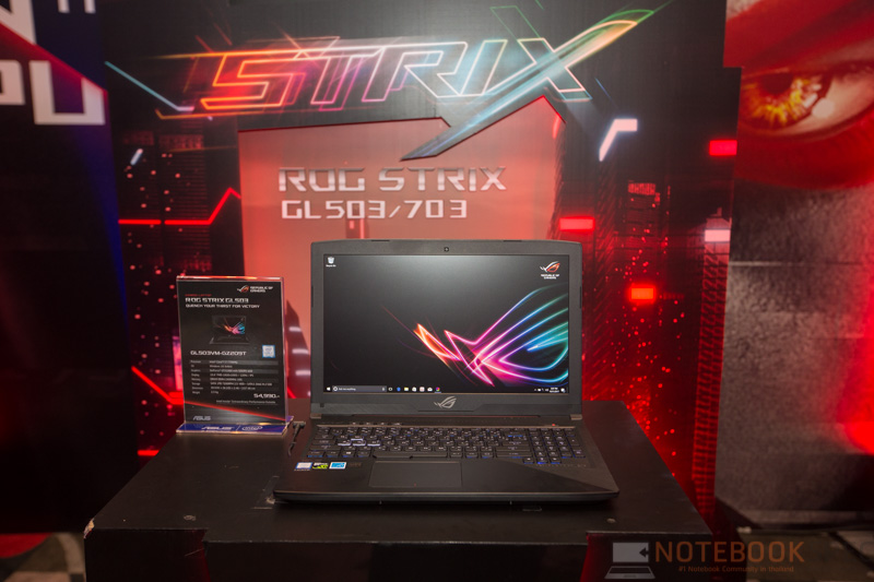 ASUS ROG Strix GL503 Preview 1
