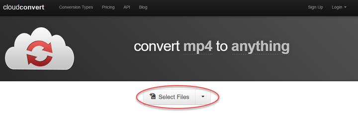 CloudConvert convert video 5
