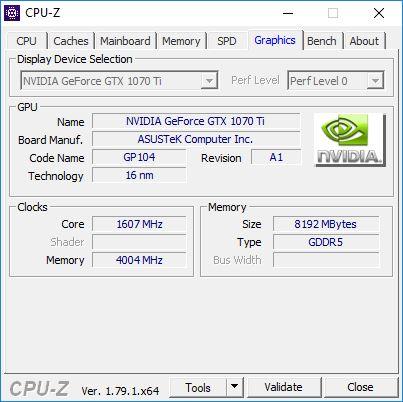 GTX 1070TI CPUZ6