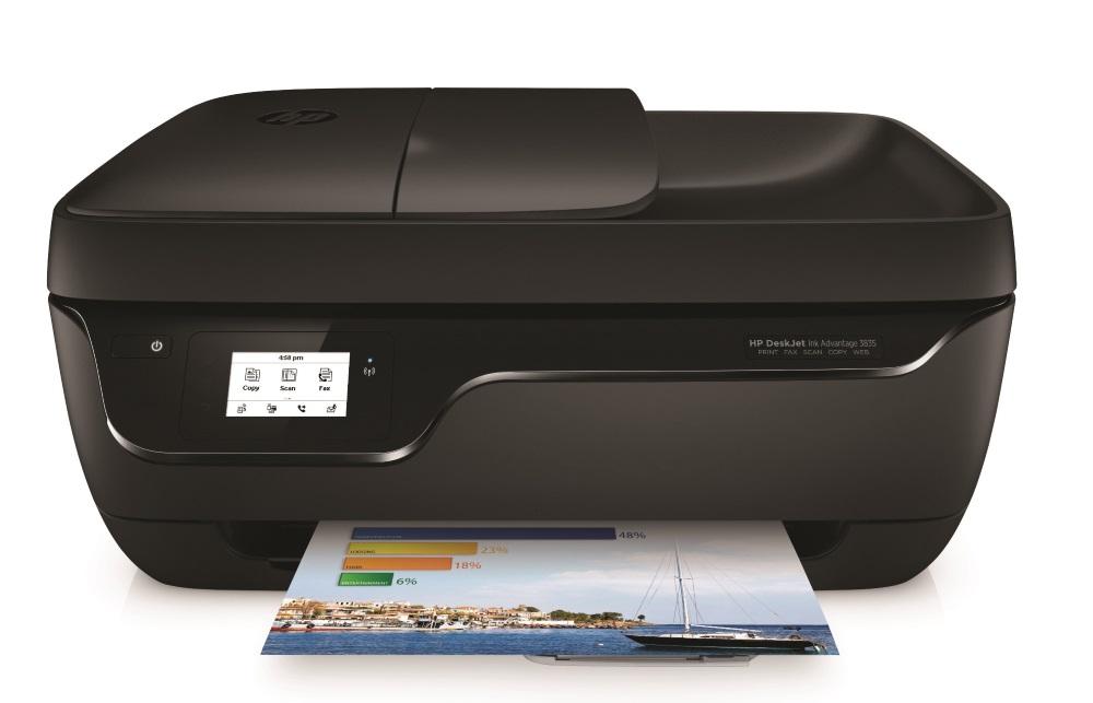 HP DeskJet Ink Advantage 3835 All in One 1