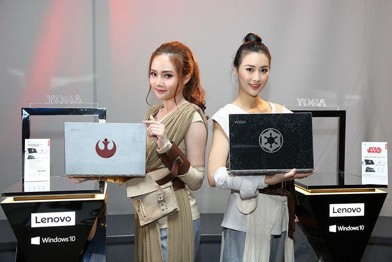 5 ผลิตภัณฑ์ Lenovo Yoga 920 Star Wars Special Editionและพริตตี้
