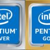 pentium sliver gold