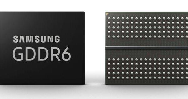 samsung 16gb gddr6 memory 1