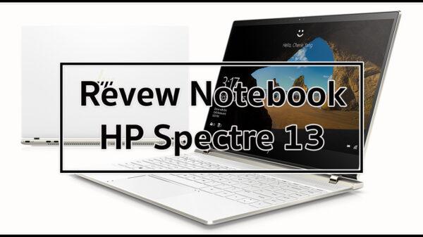 HP specter 13 2018 top