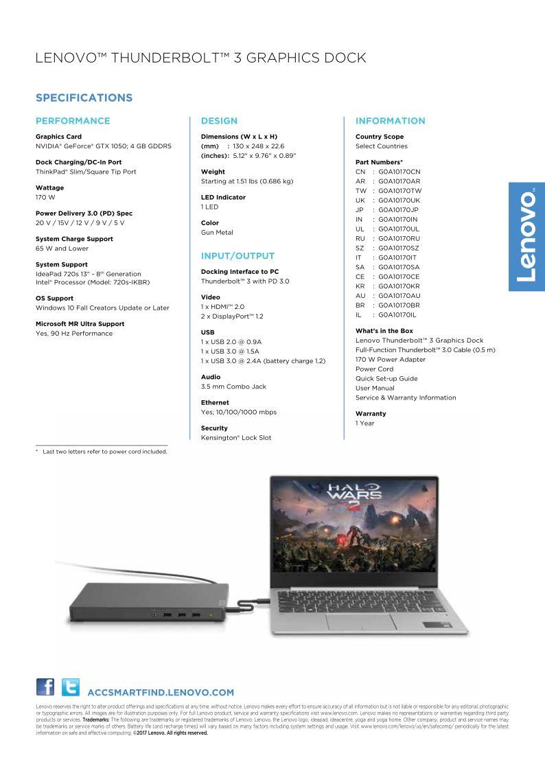 egpu len with ideapad 720s