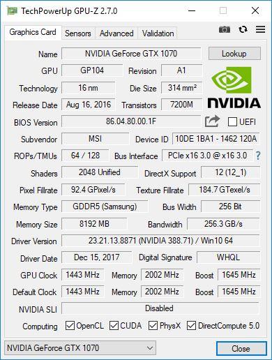 vortex g25 GPU Z 1
