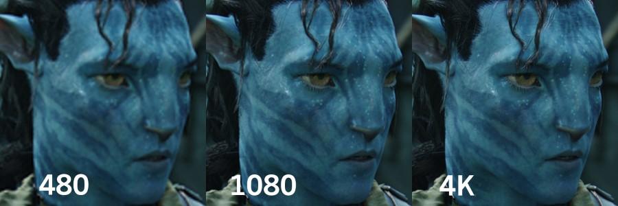 1080p vs 4K Custom