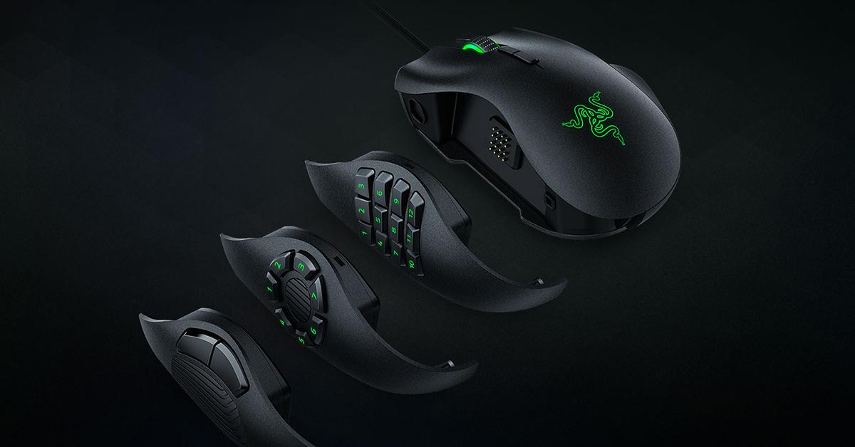 Razer Naga Trinity 3 In 1 Gaming Mouse