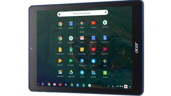 chrome OS tablet 600